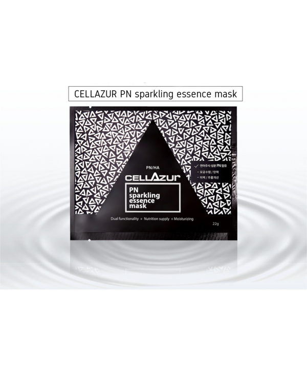 Cellazur Sparkling Essence mask, 3pcs