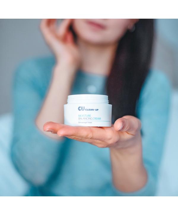 Cuskin Clean-Up Moisture Balancing Cream, 50ml
