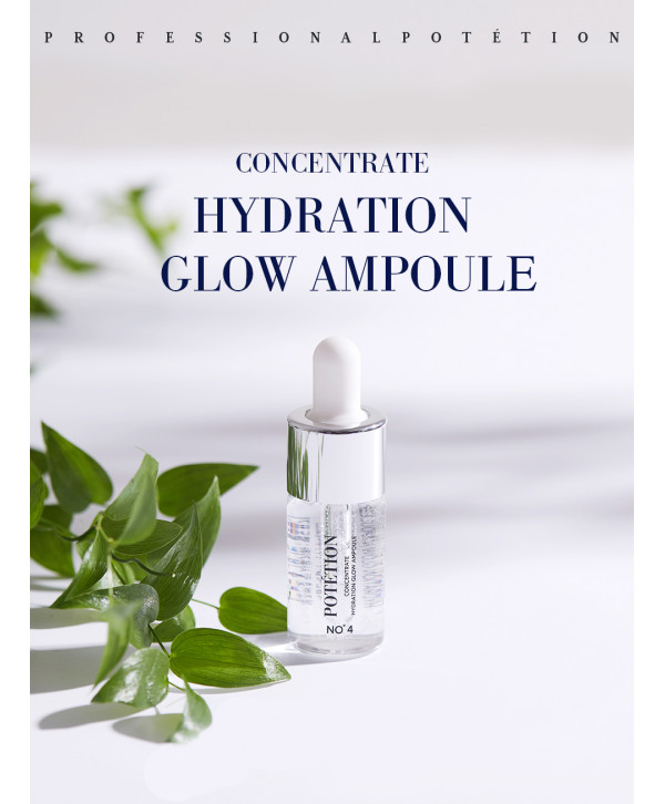 POTETION Concentrate Hydration Glow Ampoule, 11ml